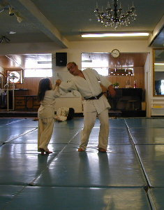 Aikido for Children Chapter 2: Ma'ai and Backleading